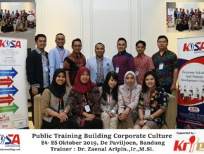 Corporate Culture 24-25 Oktober 2019, De Paviljoen Bandung
