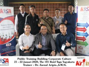 Building Corporate Culture 21-22 Januari 2020, The 101 Hotel Yogyakarta